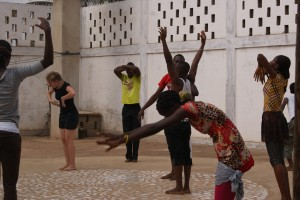Stage de danse contemporaine au togo