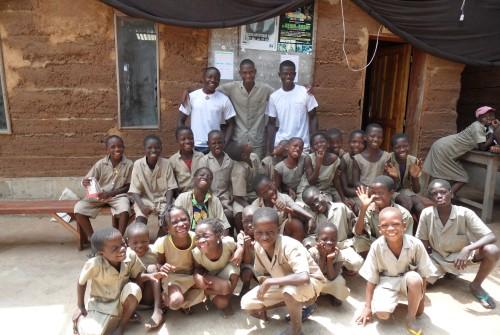 Soutien de scolarité au Bénin