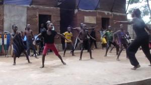 Satge de danse tradi contemporaine avec la Cie Walô
